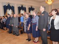 21 житель Новгородской области получил награды за выдающиеся результаты в своей работе