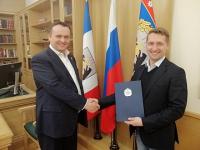 Андрей Никитин поблагодарил покинувшего пост министра Владимира Куимова