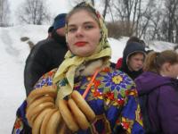 Боровичане весело простились с Зимой