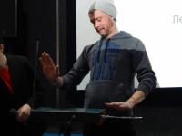 Фото: как правнук Льва Термена новгородцев на терменвоксе играть учил