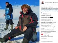 Легендарный спортсмен Николай Валуев и знаменитый охотник Валерий Кузенков порыбачили на Ильмене