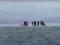 На Ильмене спасли семь рыбаков