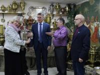 На Масленице в Старой Руссе гостей угостят чаем из столетнего самовара