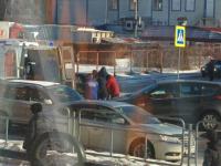 Врачи скорой привели в чувства сбитого на Большой Московской пешехода