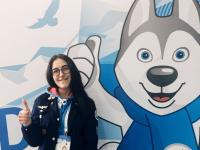 Новгородская студентка рассказала, как работают волонтеры на Универсиаде