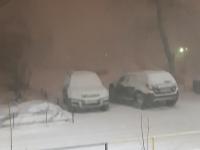 Новгородцы и петербуржцы стали свидетелями редкого явления — снежной грозы