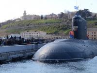 Подводная лодка «Великий Новгород» впервые прибыла в Севастополь