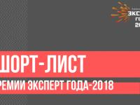 «Русь Новгородская» вошла в шорт-лист премии «Эксперт года-2018»