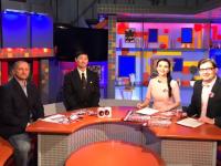 Сенсеи стали гостями «Соседей» на Новгородском телевидении
