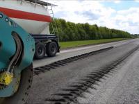 В Новгородской области холодный ресайклинг при ремонте дорог дал хороший результат