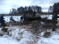 В Новгородской области найдено место падения пикирующего бомбардировщика Пе-2