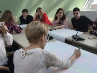 В новгородской «Точке кипения» ученикам пояснили, как вывести самоуправление на другой уровень