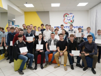 В «Новгородском Кванториуме» отпраздновали первый выпускной