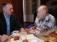 В Великом Новгороде 100-лет исполнилось участнику Великой Отечественной войны Федору Блохинову