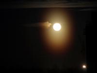 В Великом Новгороде Луна стала странной в день, равный ночи