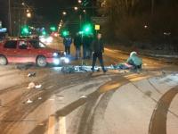 В Великом Новгороде произошло тяжелое ДТП с мотоциклистом