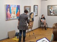 В Великом Новгороде прошел мастер-класс «Портрет»: искусство живописи для всех