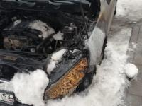 В Великом Новгороде вновь подожгли автомобиль Дмитрия Игнатова