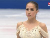 Загитова заняла первое место после короткой программы на Чемпионате мира. Медведева — четвертая