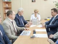 Андрей Никитин: «Для нас важно, что в Новгородской области появится еще одна межрайонная больница»