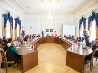 Андрей Никитин и Елена Писарева встретились с новгородскими бизнес-леди