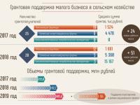 Инфографика: сельское хозяйство Новгородской области в цифрах