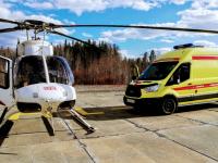 На М-11 в Новгородской области создадут две вертолетные площадки для санавиации
