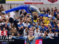 Новгородские акробаты стали призерами этапа Кубка мира