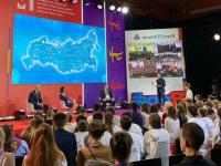 Пестовские участники открытого урока с Медведевым, Черчесовым и Никитиным поделились впечатлениями