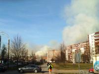 Под вечер новгородцы завалили соцсети фотографиями дыма всех оттенков серого