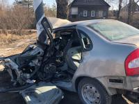 После одиночного ДТП под Великим Новгородом водителя доставили в больницу