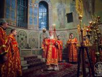 Смотрите в эфире НТ праздничное Пасхальное богослужение из Софийского собора