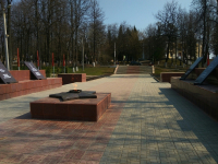 В Боровичах предприниматели отремонтировали мемориал «Вечный огонь»