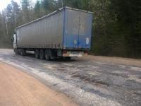 В Новгородской области ограничение для движения большегрузов продлили на 10 дней