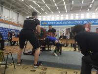 В Великом Новгороде дан старт уникальным соревнованиям по пауэрлифтингу