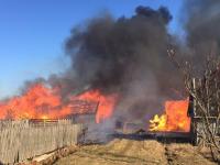 За сутки в Новгородской области полыхало и тлело более полусотни пожаров