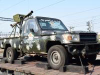 Великому Новгороду показали боевую технику сирийских террористов