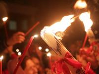 Верующие новгородцы смогут получить частичку Благодатного огня