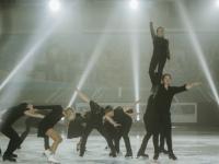 Звёзды фигурного катания выступили в Великом Новгороде