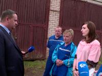 Андрей Никитин неожиданно приехал в Крестецкую ЦРБ