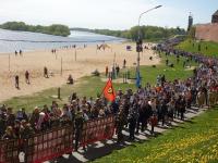 День Победы глазами новгородских школьников и студентов (фоторепортаж)