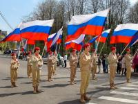 Фоторепортаж: в Великом Новгороде прошел праздник Весны и Труда