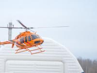 Из Чудова в Великий Новгород вертолет доставит пациента с тяжелыми переломами