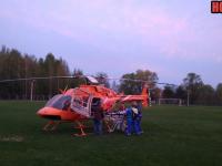 Пациента с инфарктом доставят санавиацией в Великий Новгород из крестецкой больницы
