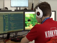 Новгородский студент целый день работал над игрой «Тимон и Пумба» на чемпионате в Казани