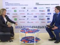 Вероника Минина рассказала о том, что такое национальный чемпионат WorldSkills для Новгородской области