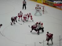 Сборная России выиграла у сборной Латвии со счетом 3:1 на Чемпионате мира по хоккею