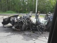 Сегодня утром на трассе в Валдайском районе погиб водитель «Волги»