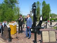 В Боровичах открыли мемориальный комплекс «Защитникам морских рубежей России»