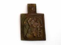 В новгородский музей передали икону с Бесогоном